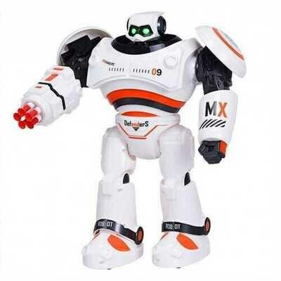 Remote Control Programmable Intelligent Combat Fighting Robot -Orange