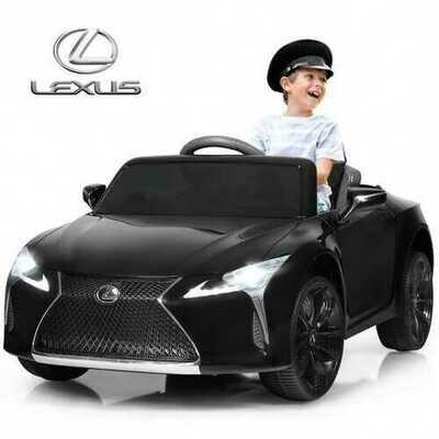 Kids Ride Lexus LC500 Licensed Remote Control Electric Vehicle-Black
