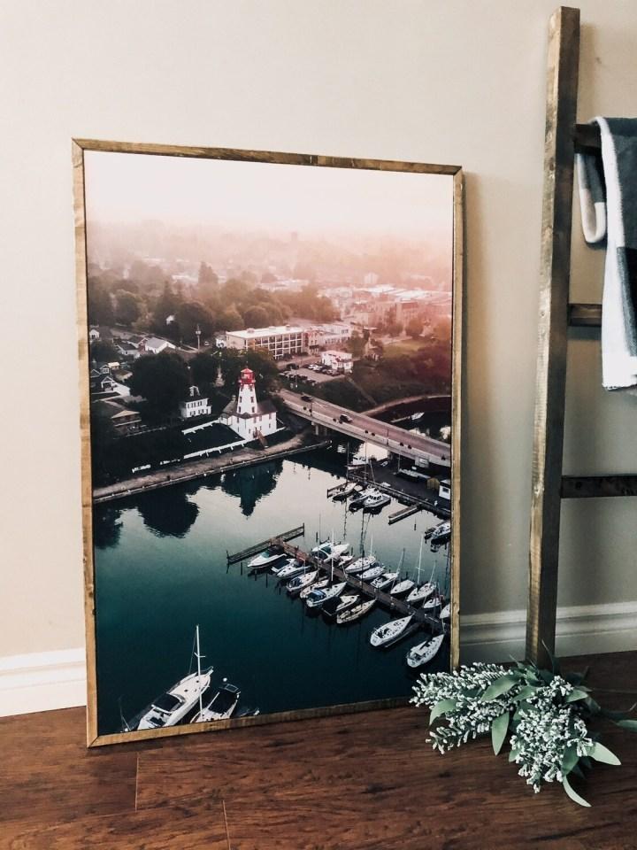 Kincardine Harbour Canvas Print