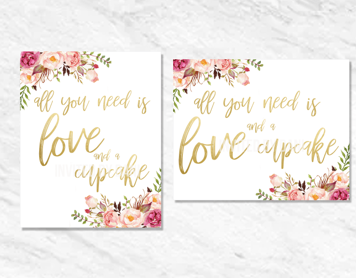 Peonies | All You Need Is Love And A Cupcake | Printable Good
