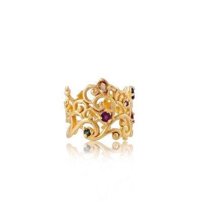 Follow Your Bliss Ring • Gold Vermeil