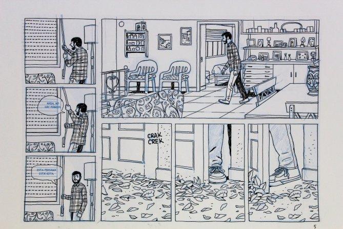 Paco Roca- Página de la casa 00146