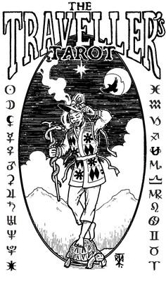 PRE-ORDER The Traveller's Tarot - Black Arcana limited edition