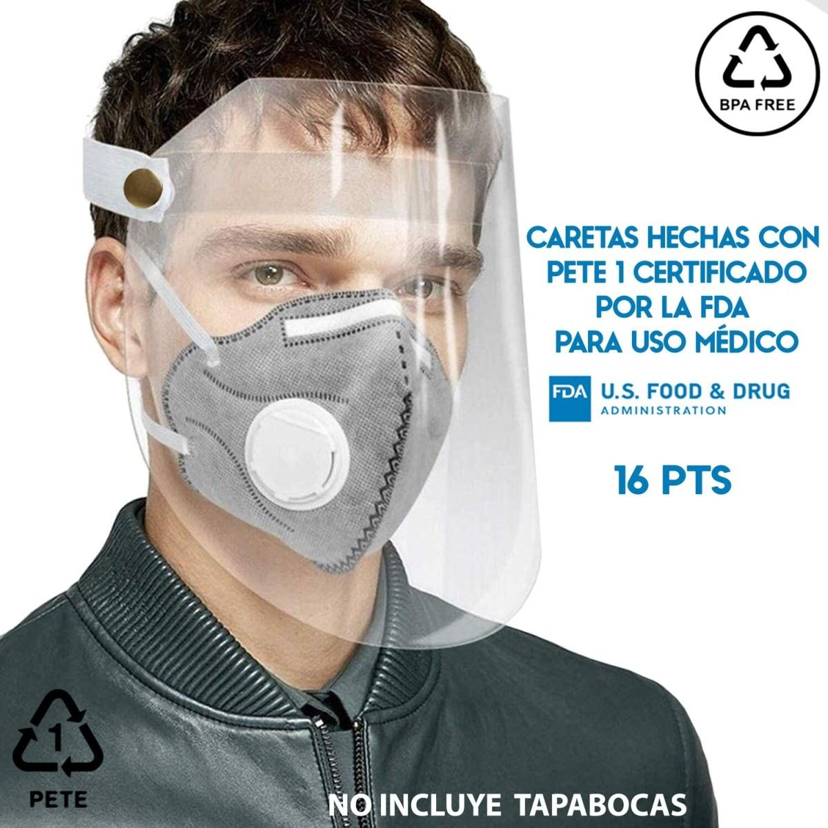Careta Protector Facial PET UNITALLA