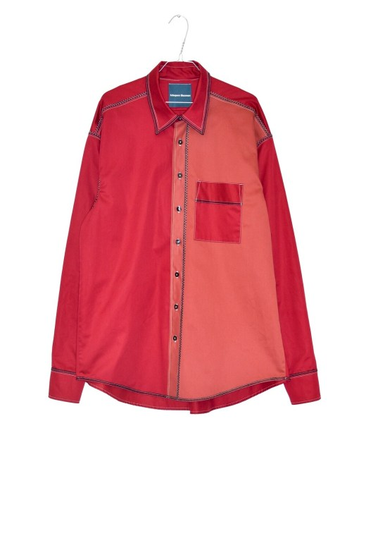 REDCURRANT SHIRT - PATCHWORK
