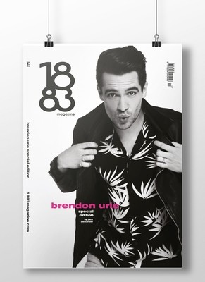 Brendon Urie cover poster