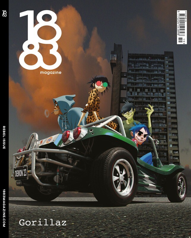 1883 Magazine Rebel Issue Gorillaz