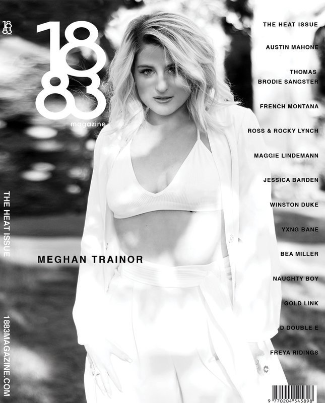 1883 Magazine The Heat Issue Meghan Trainor