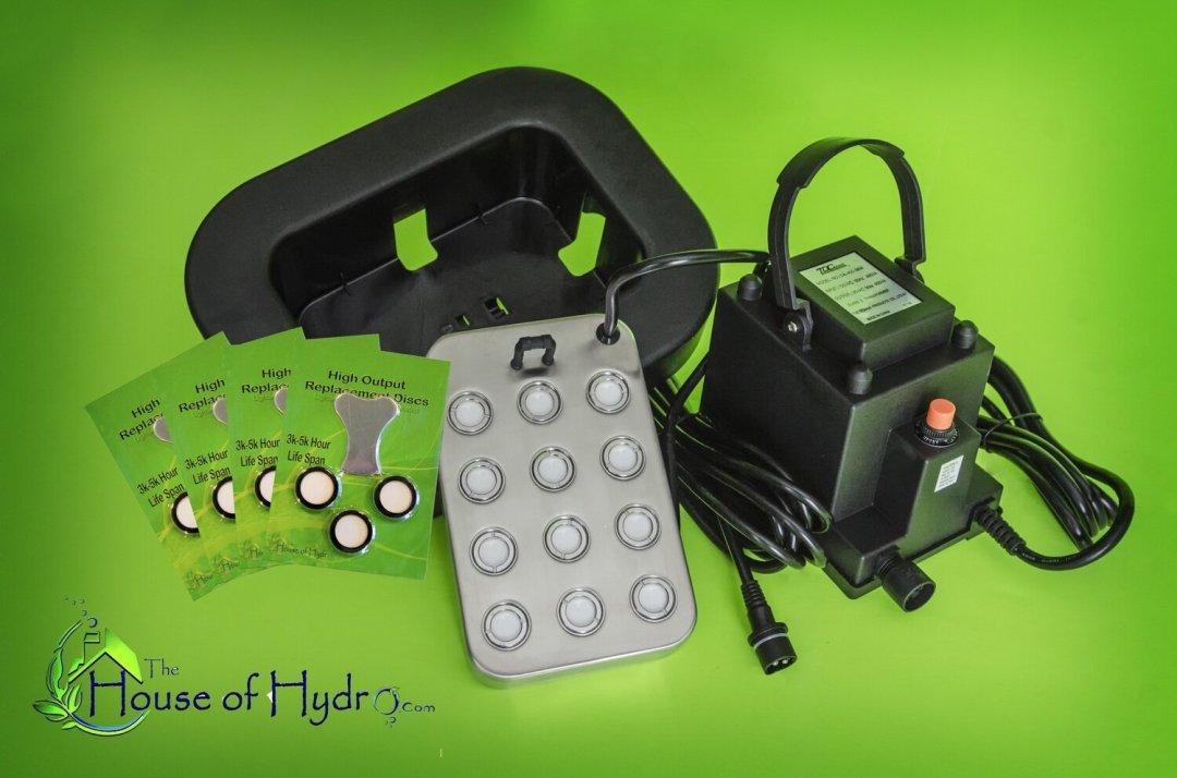 12 Disc Mist Maker XL Starter Kit - House of Hydro