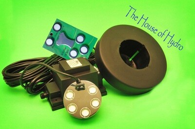 5 Disc Mist Maker Starter Kit - House of Hydro