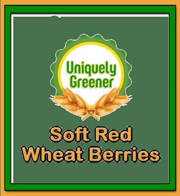 Organic Soft Red Wheat Berries