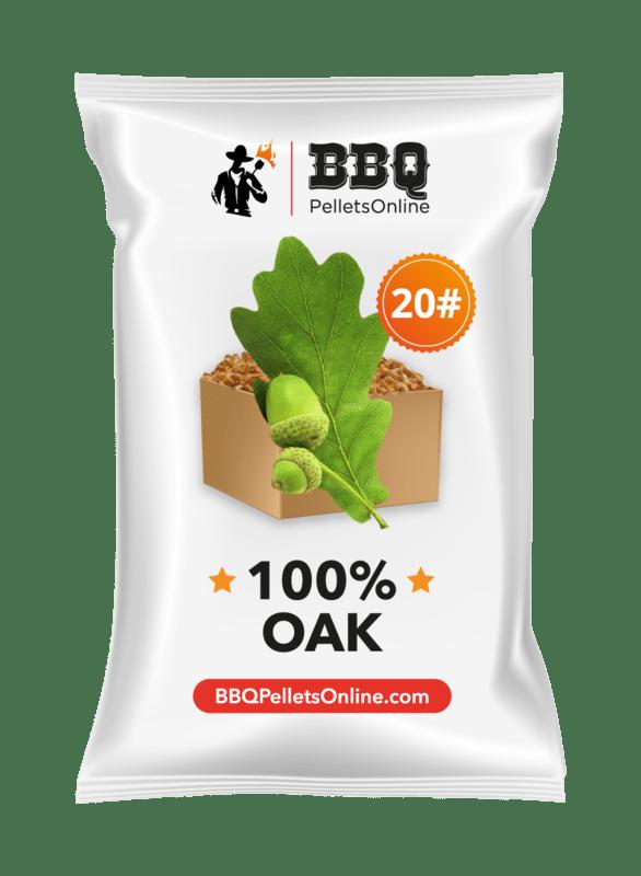 100% Oak BBQPelletsOnline BBQ Pellets