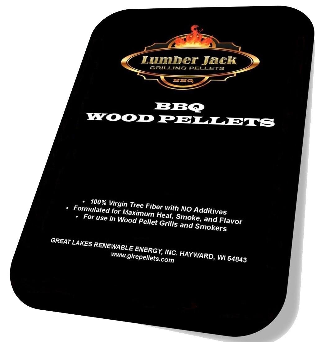 160 Pound Lumber Jack BBQ Pellets Variety Pack (Select 8 20-Pound Varieties)