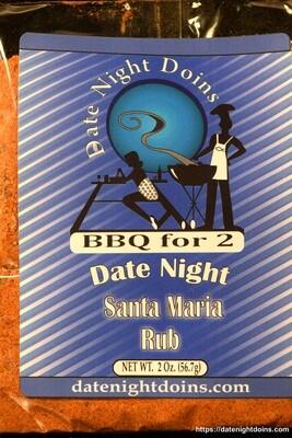 Date Night Doins Santa Maria Rub