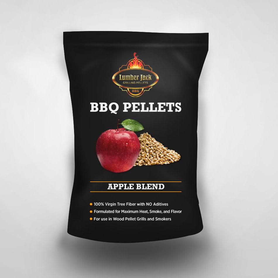 Apple Blend Lumber Jack BBQ Pellets