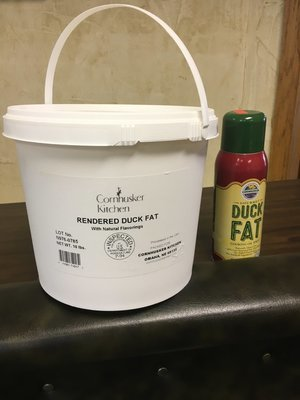 10 Pound Tub Premium Rendered Duck Fat
