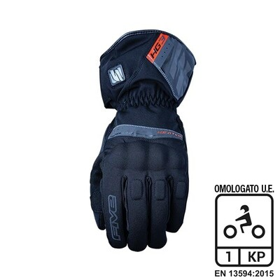 Guanti FIVE Riscaldabili HG3 WP BLACK