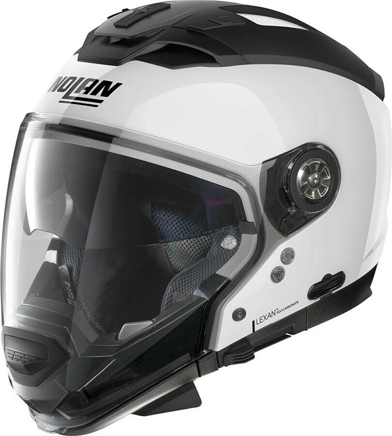Casco Crossover NOLAN N70.2 GT SPECIAL col. 15 BIANCO LUCIDO