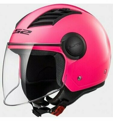CASCO LS2 JET OF562 AIRFLOW col. FLUO PINK