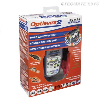 MANTENITORE / CARICA BATTERIE OPTIMATE 2