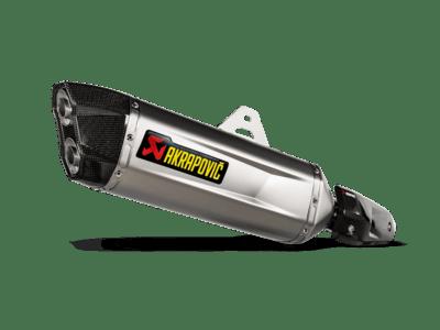 TERMINALE AKRAPOVIC in Titanio Tenere' 700 2019/2021