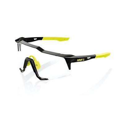 Occhiali da sole 100% SPEEDCRAFT SL - GLOSS BLACK - LENTI FOTOCROMATICHE