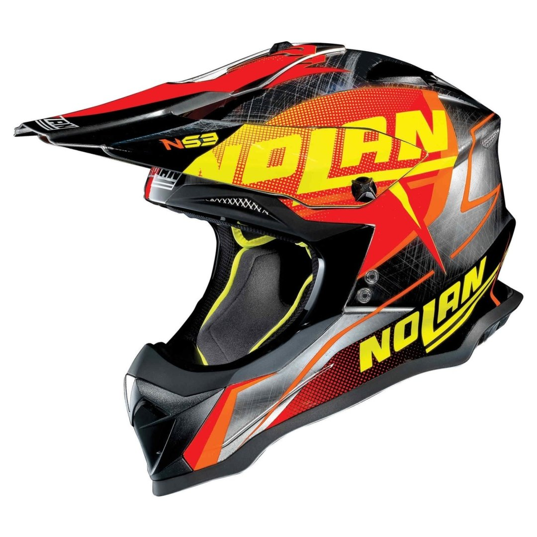 Casco Cross NOLAN N53 col. 44