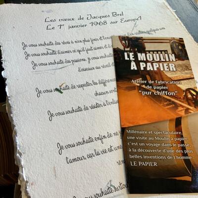 Les vœux De Jacques Brel 1968