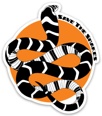 Save The Snakes Sticker