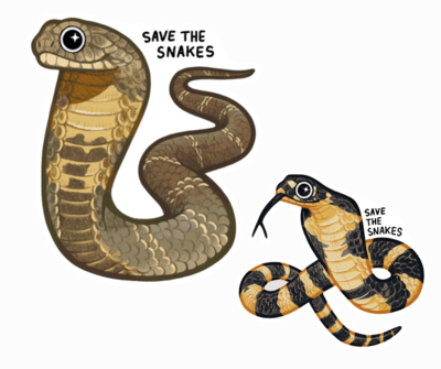 King Cobra Sticker Pack