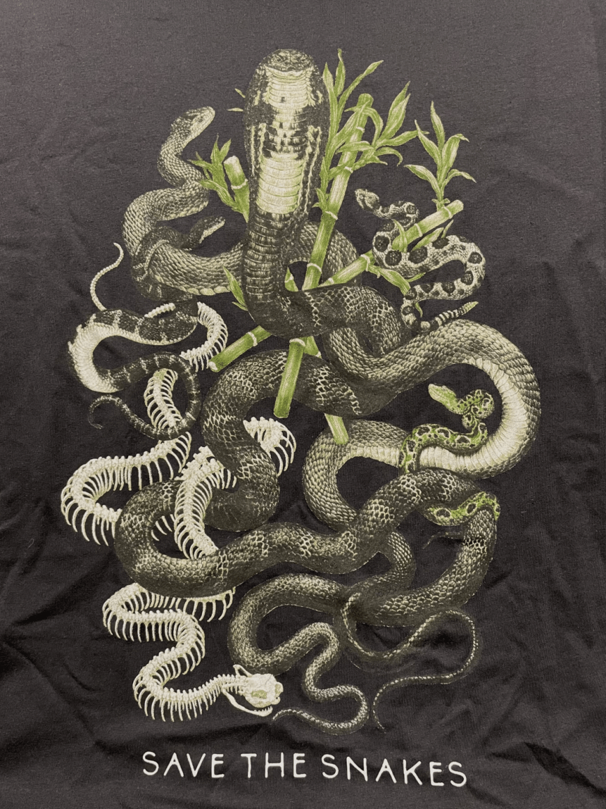 Venomous Snakes of The World Tee - Universal Fit