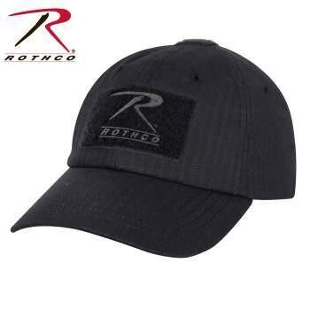 Black Rooftop Tactical Cap