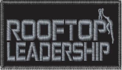 Rectangular Rooftop Leadership Patch