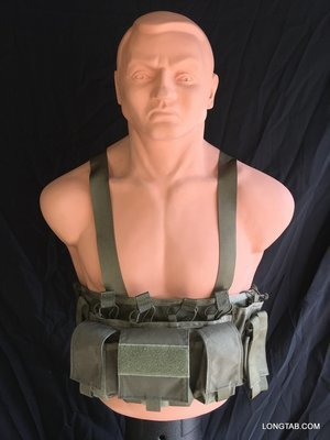 Diamondback Tactical Reconnaissance Vest / Chest Rig - Green