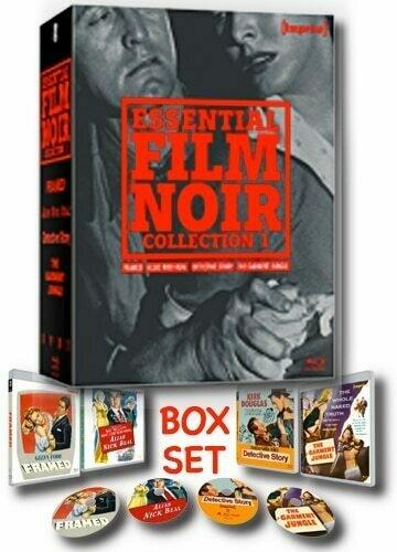 Essential Film Noir Collection 1:  Four classic noir movies