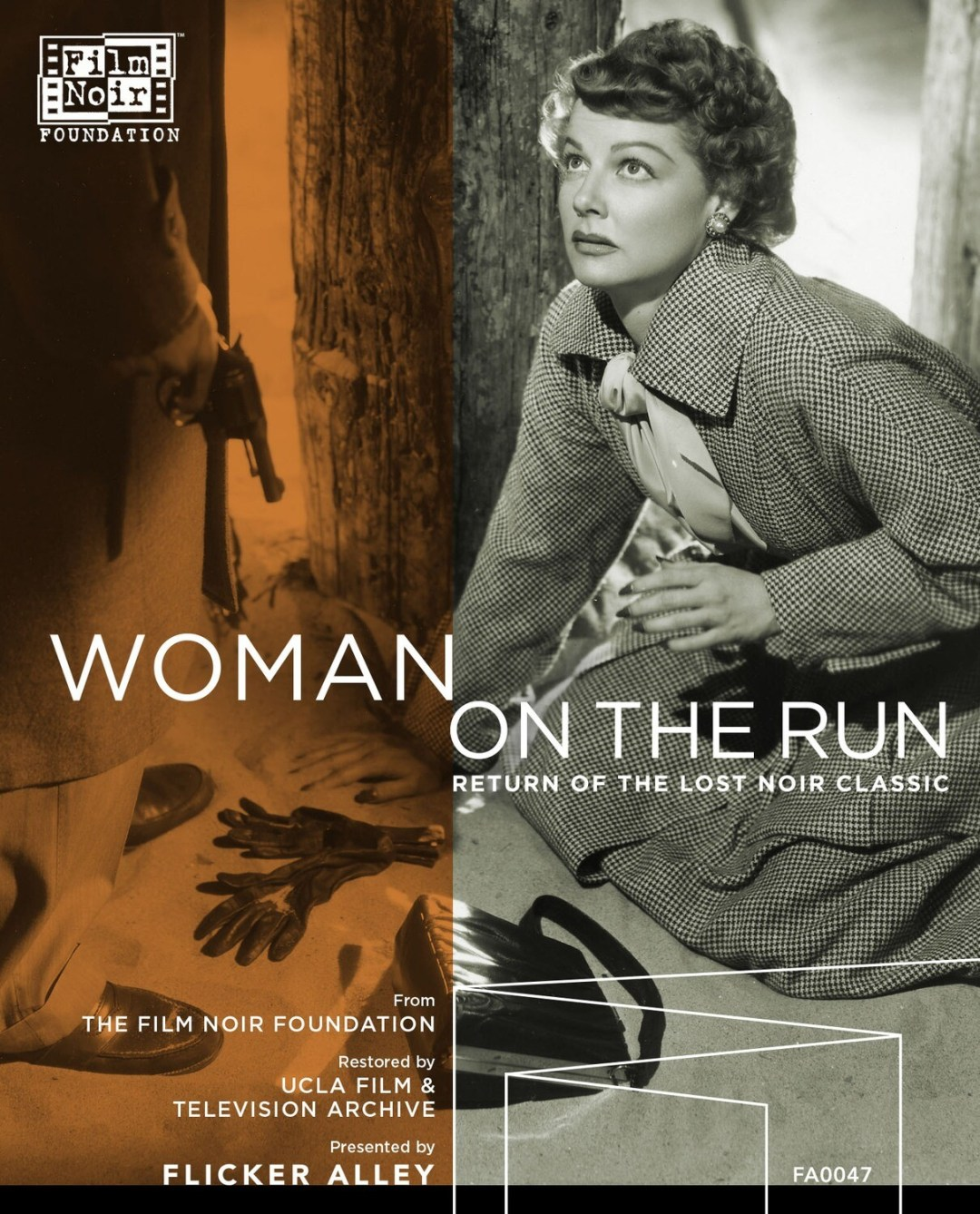 WOMAN ON THE RUN (1950) Fully restored on Blu-ray & DVD!