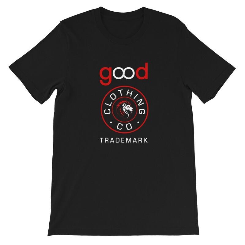 Good Forever Trademark Blk/ Red Short-Sleeve Unisex T-Shirt