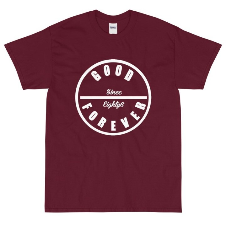 Good Forever Crimson Short Sleeve T-Shirt