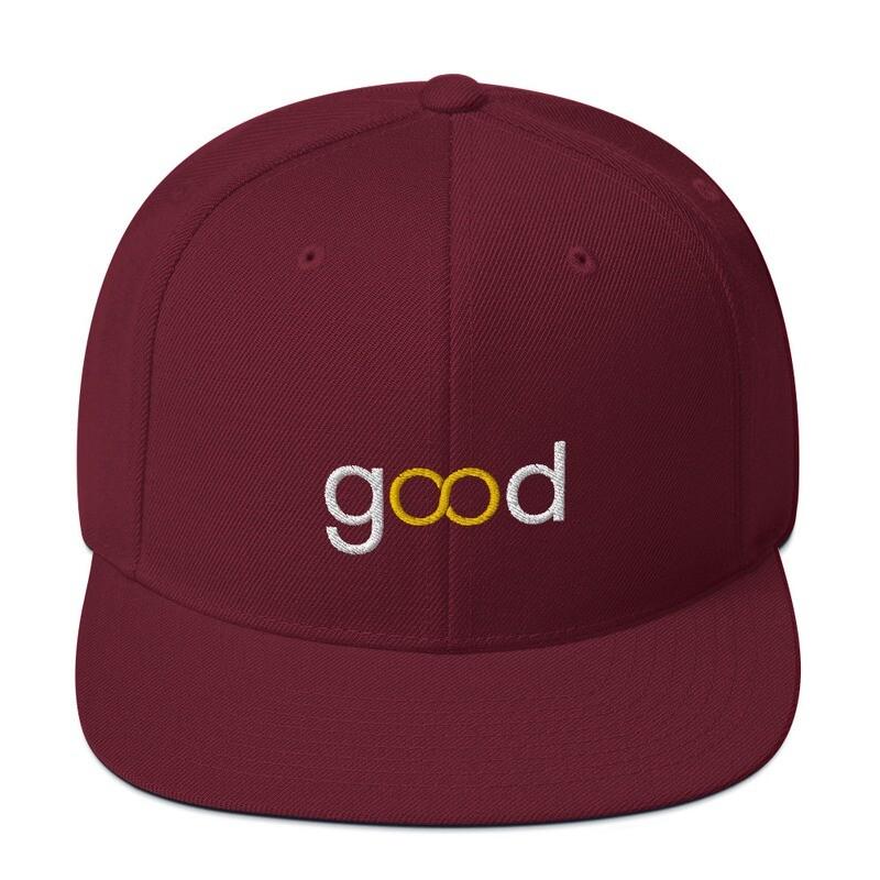 Good Forever Crimson Infinity Snapback Hat