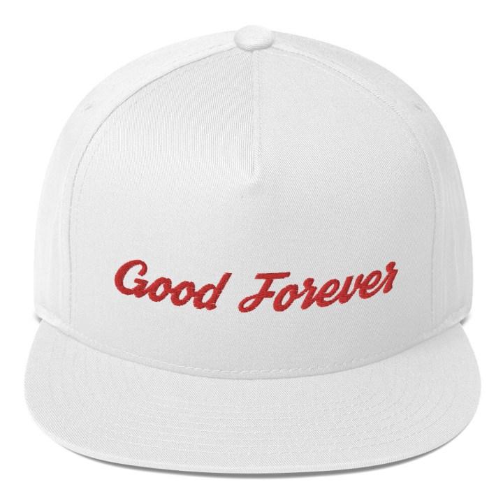 Good Forever Signature Candy Red Alt. Flat Bill Cap