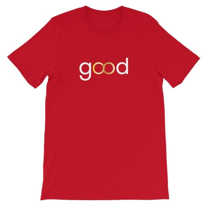 Good Forever infinity Candy Red T-Shirt