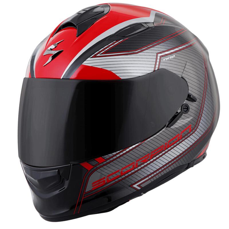 Casque Intégral Scorpion Helmets® EXO-T510 NEXUS Rouge et Noir 75-1072M