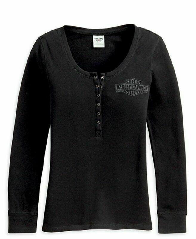 Chandail à manches longues pour Femme Harley-Davidson® Noir 99112-13VW