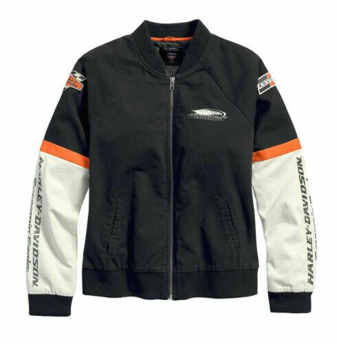 Manteau léger pour Femme Harley-Davidson® Screamin Eagle Noir & Blanc 97466-18VW