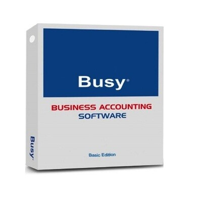 Busy Accounting Software (Basic Edition Latest Version)