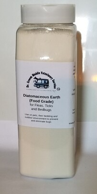 Diatomaceous Earth natural Flea and Tick repellant (1 Pound!)
