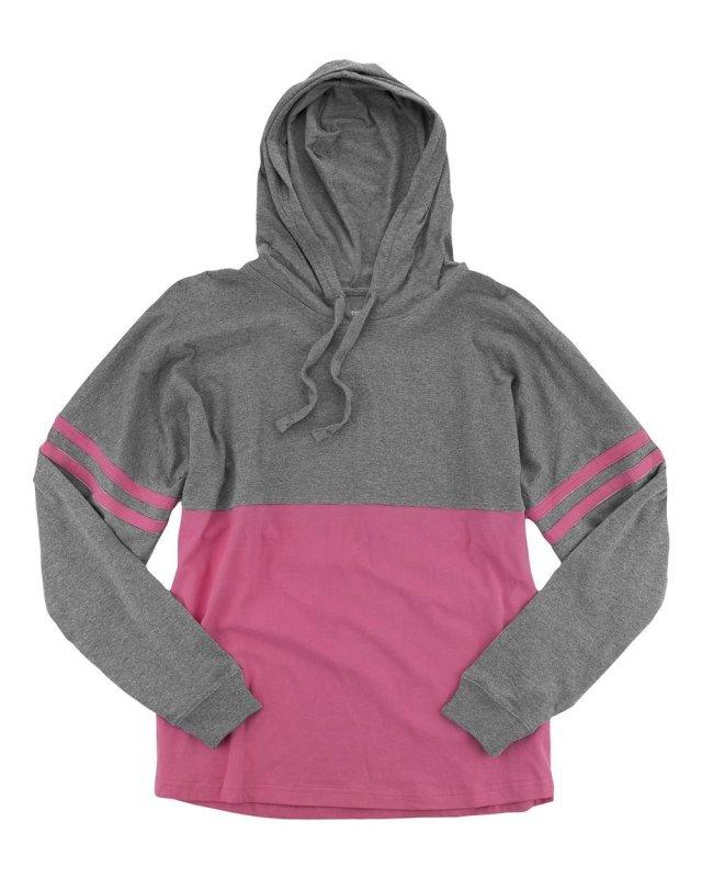 Hooded Pom Pom Jersey