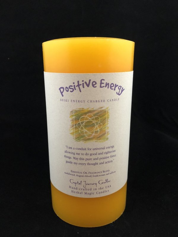 Herbal 3x6 Pillar - Positive Energy