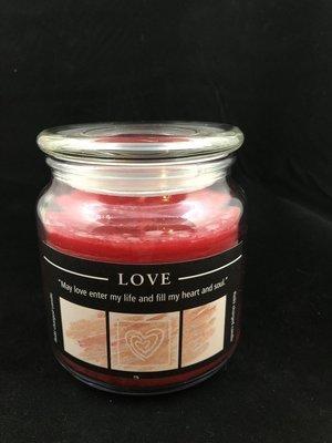 Herbal Jar Candle - Love