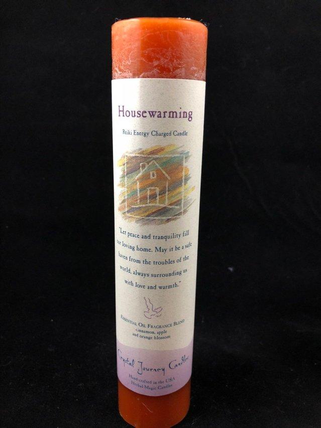 Herbal Magic Pillar-Housewarming